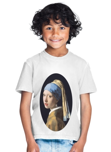 tshirt enfant Girl with a Pearl Earring
