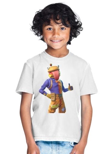 tshirt enfant Hamburger Fortnite skins Beef Boss