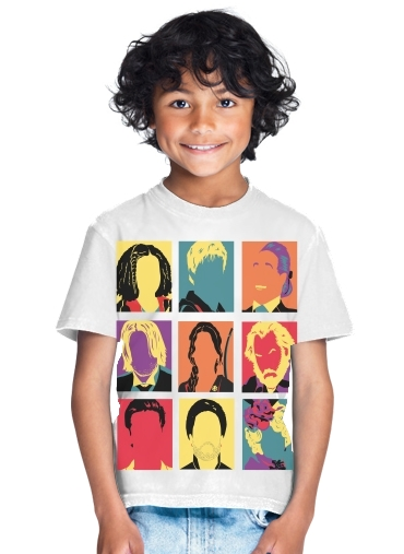 tshirt enfant Hunger pop