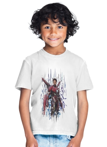 tshirt enfant Iron poly