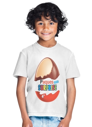 tshirt enfant Joyeuses Paques Inspired by Kinder Surprise