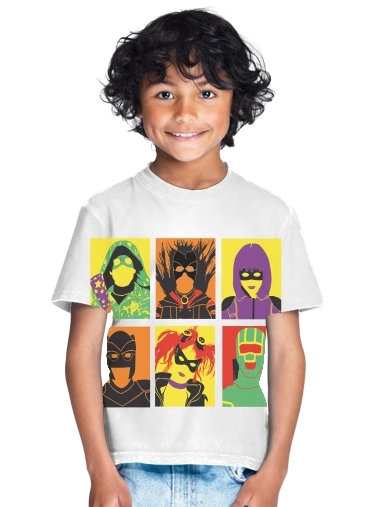 tshirt enfant Kick Pop