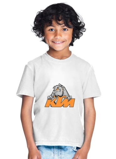 tshirt enfant KTM Racing Orange And Black