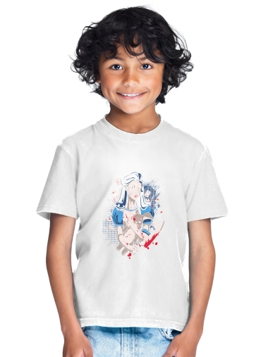 tshirt enfant Madness in Wonderland