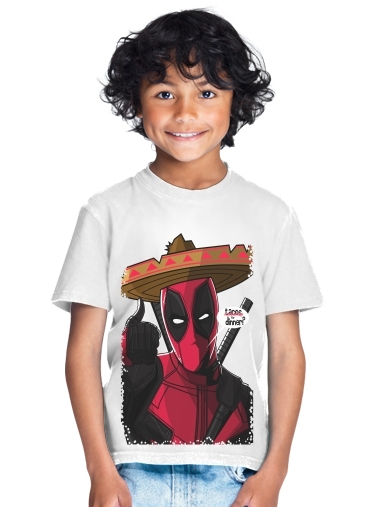 tshirt enfant Mexican Deadpool