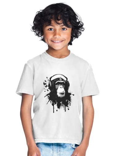 tshirt enfant Monkey Business - White
