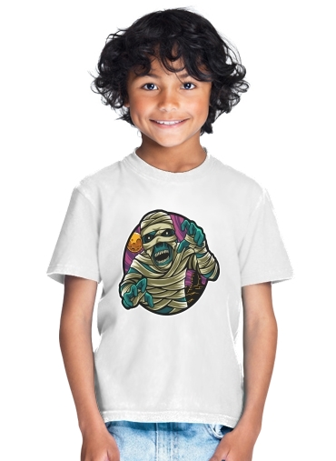 tshirt enfant mummy vector