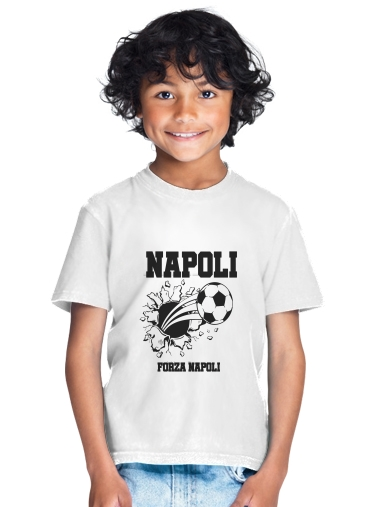 tshirt enfant Napoli Football Kit Home