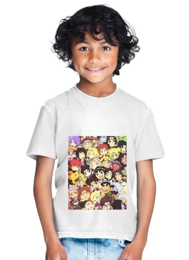 tshirt enfant Naruto Chibi Group