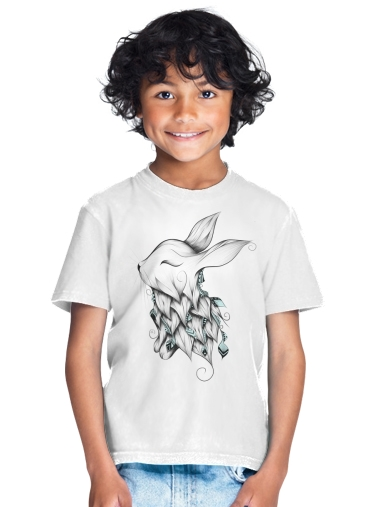 tshirt enfant Poetic Rabbit