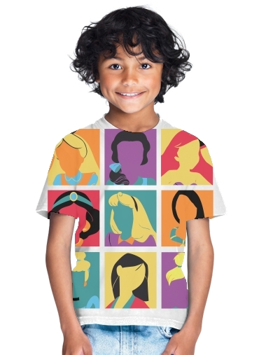 tshirt enfant Princess pop
