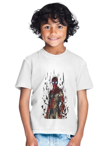 tshirt enfant Spiderman Poly