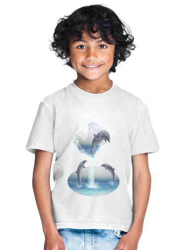 tshirt enfant The Heart Of The Dolphins