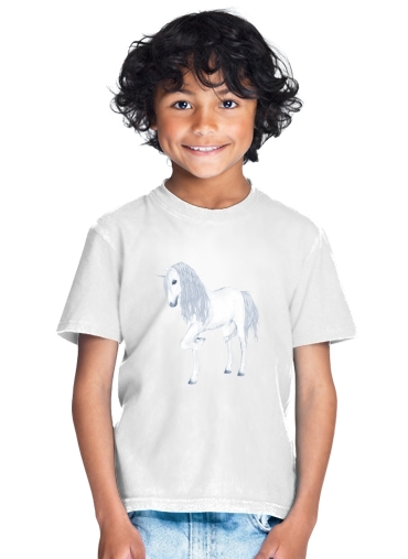 tshirt enfant The White Unicorn