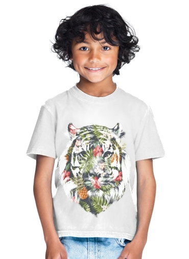 tshirt enfant Tropical Tiger
