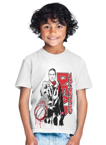 tshirt enfant TWD Negan and Lucille