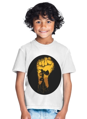 tshirt enfant Wanpanman aka one punch man