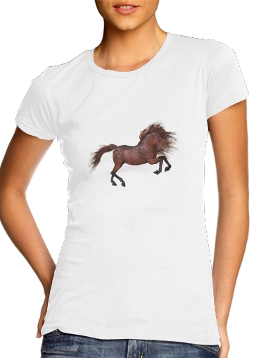 Tshirt A Horse In The Sunset femme
