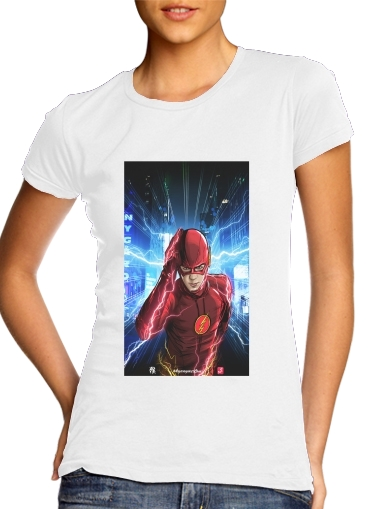 Tshirt At the speed of light femme