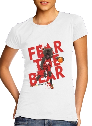 Tshirt Beasts Collection: Fear the Bear femme