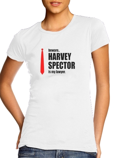 Tshirt Beware Harvey Spector is my lawyer Suits femme