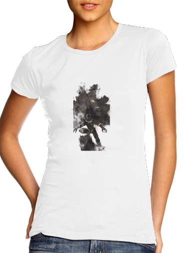 Tshirt Black Panther Abstract Art Wakanda Forever femme