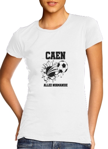 Tshirt Caen Football Kit Home femme