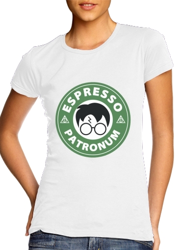 Tshirt Espresso Patronum inspired by harry potter femme