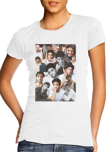 Tshirt Noah centineo collage femme