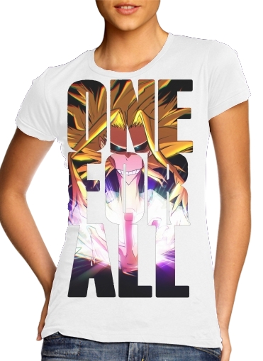 Tshirt One for all  femme
