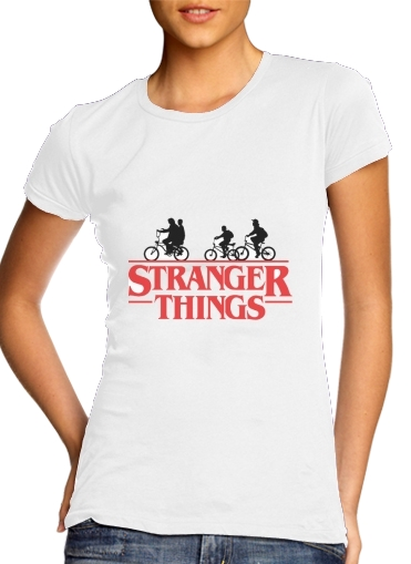 Tshirt Stranger Things by bike femme