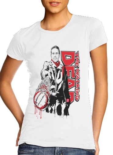 Tshirt TWD Negan and Lucille femme