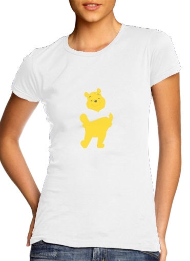 Tshirt Winnie The pooh Abstract femme