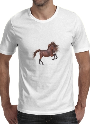 Tshirt A Horse In The Sunset homme