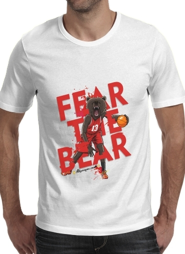 Tshirt Beasts Collection: Fear the Bear homme