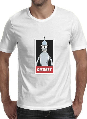 Tshirt Bender Disobey homme