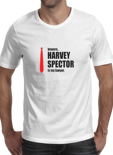 Tshirt Beware Harvey Spector is my lawyer Suits homme