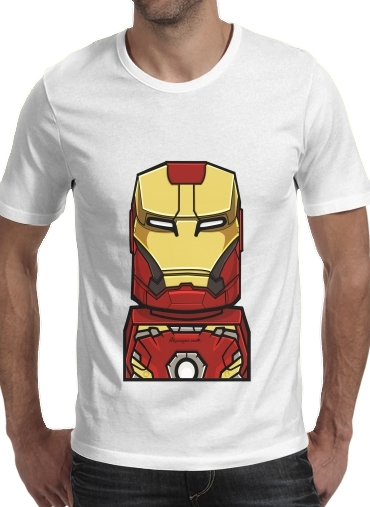 Tshirt Bricks Ironman homme