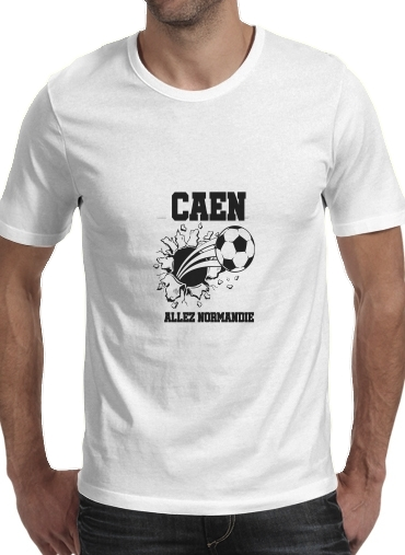 Tshirt Caen Football Kit Home homme