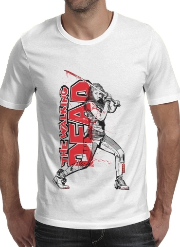 Tshirt Deadly Michonne homme