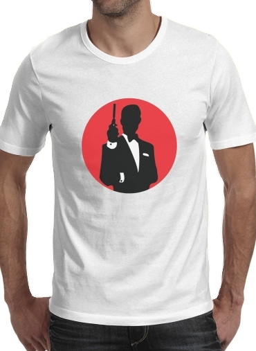 Tshirt English Secret Agent homme