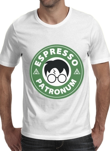Tshirt Espresso Patronum inspired by harry potter homme