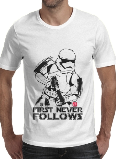 Tshirt First Never Follows homme