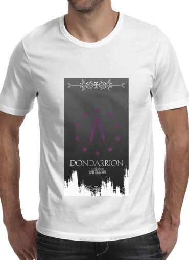 Tshirt Flag House Dondarrion homme