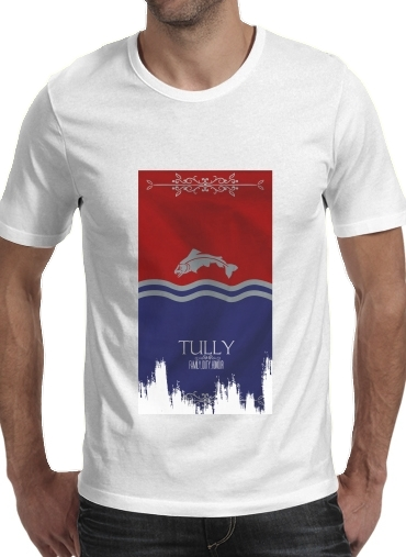 Tshirt Flag House Tully homme