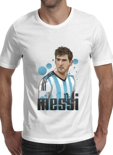 Tshirt Football Legends: Lionel Messi - Argentina homme