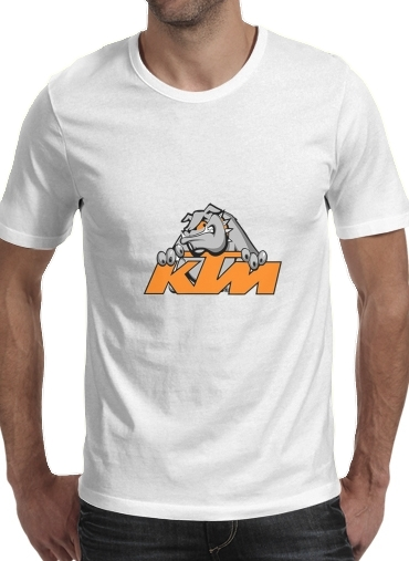 Tshirt KTM Racing Orange And Black homme