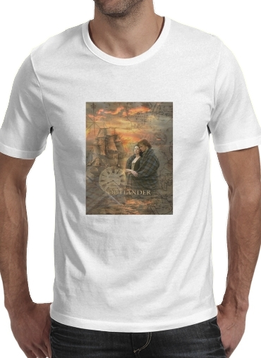 Tshirt Outlander Collage homme