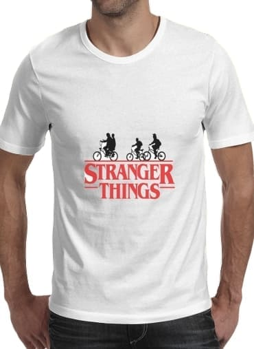 Tshirt Stranger Things by bike homme