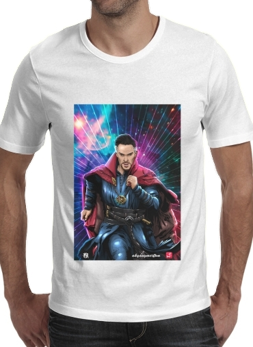 Tshirt The doctor of the mystic arts homme